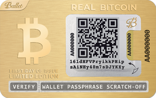 Wallet Ballet Crypto (Gold)
